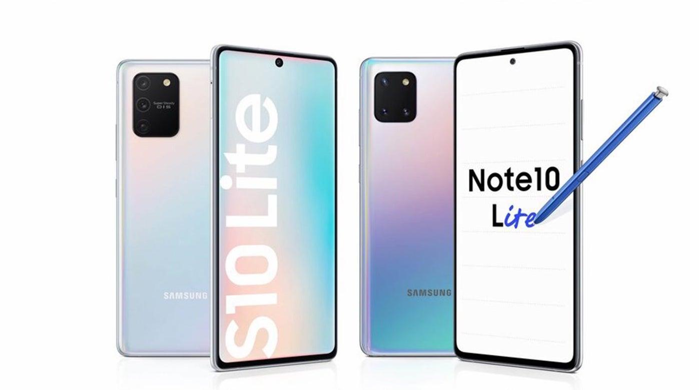Ini adalah S10 Lite dan Note10 Lite yang baru