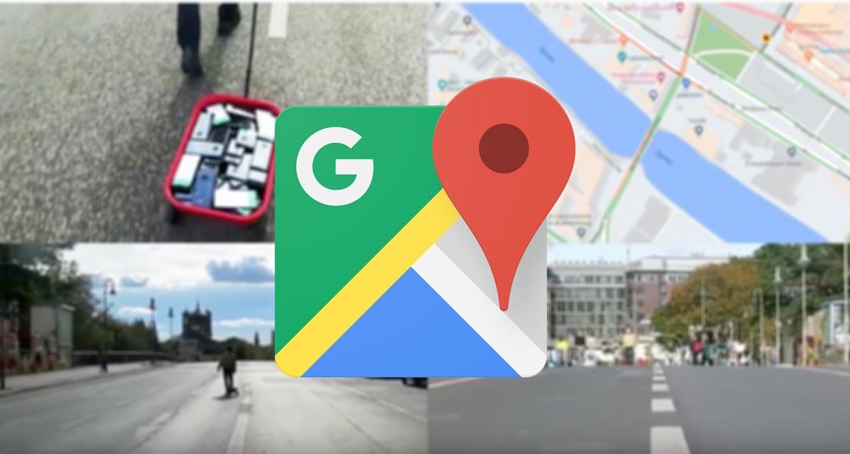 """Pria ini """"diretas"""" Google Maps dengan 99 ponsel dan gerobak dorong"""