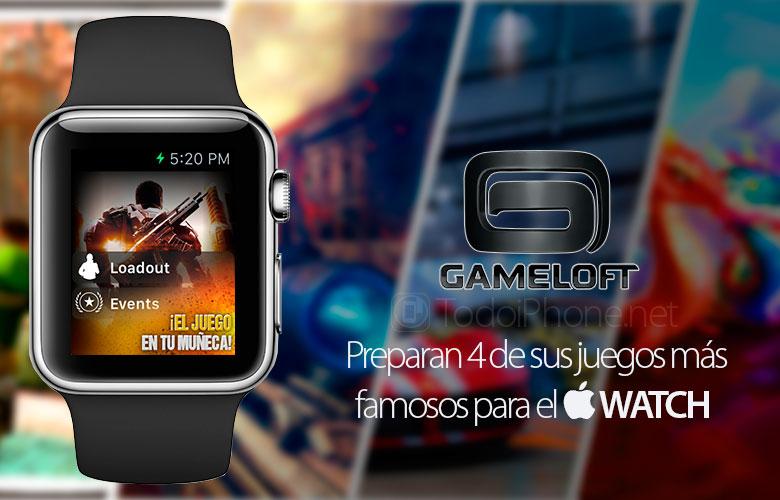 Gameloft memiliki 4 game yang siap untuk Apple Watch 1