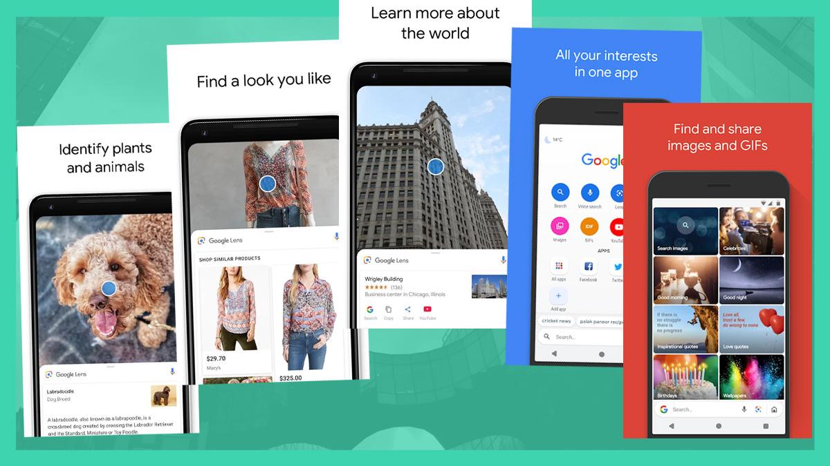 Google Go Search dan Lens tersedia di seluruh dunia untuk Android 5.0 atau lebih tinggi 1