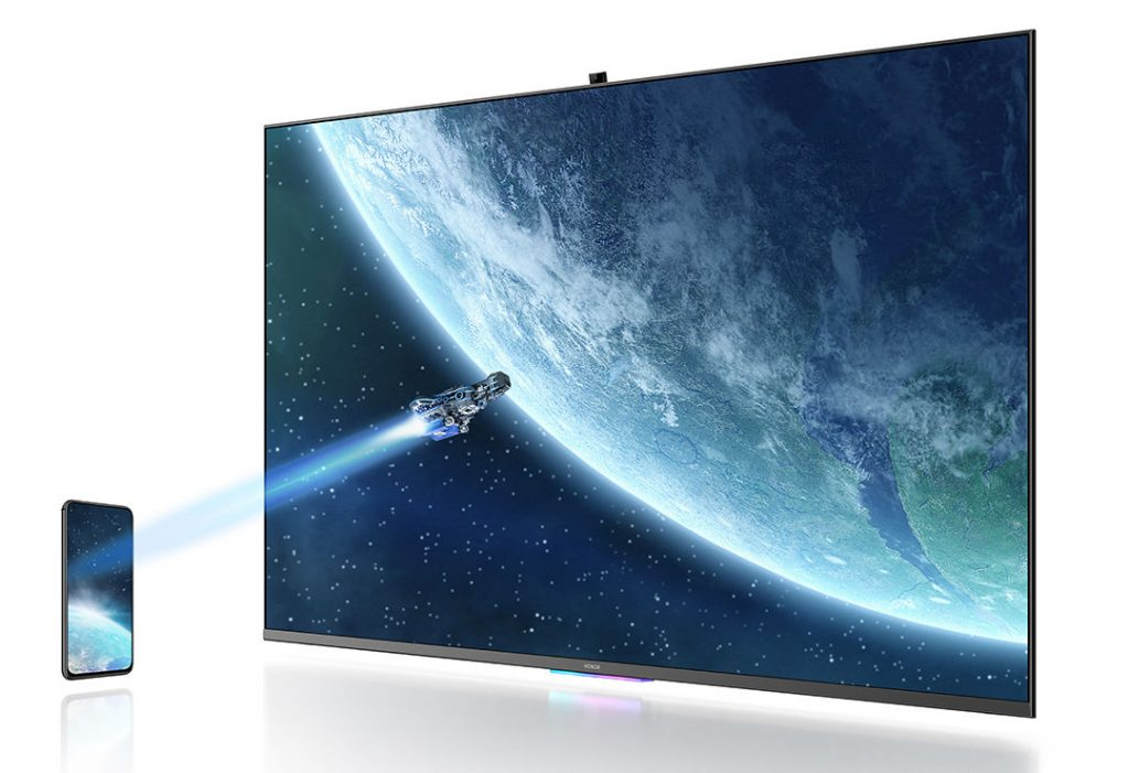 Honor Vision: TV pintar 55 inci dengan kamera pop-up resmi!