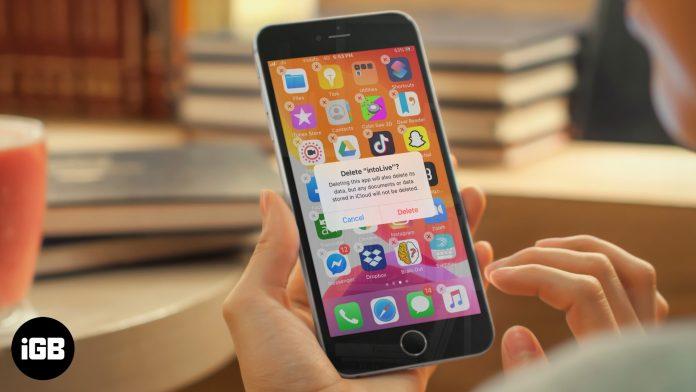 Cómo eliminar aplicaciones en iPhone y iPad
