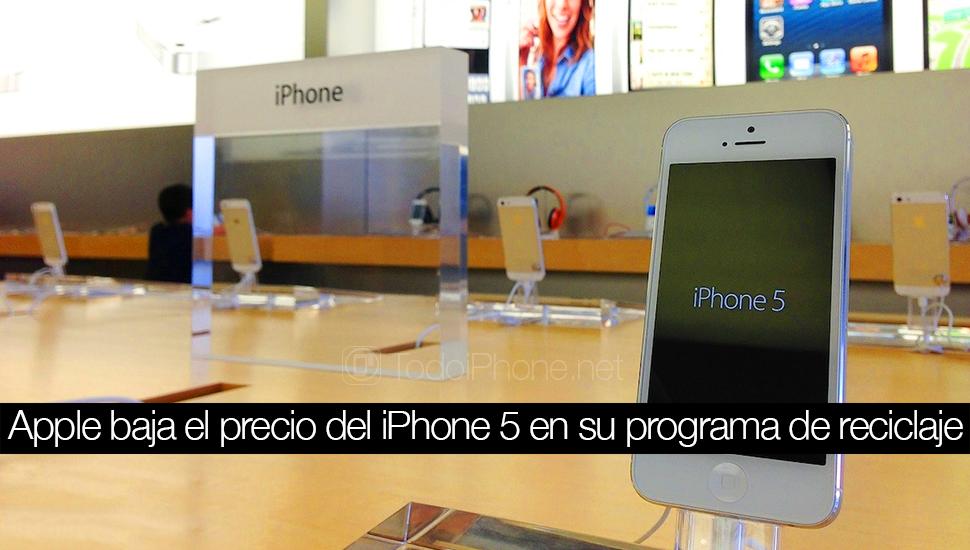 IPhone 5 kehilangan nilai dalam program pembaruan Apple 1