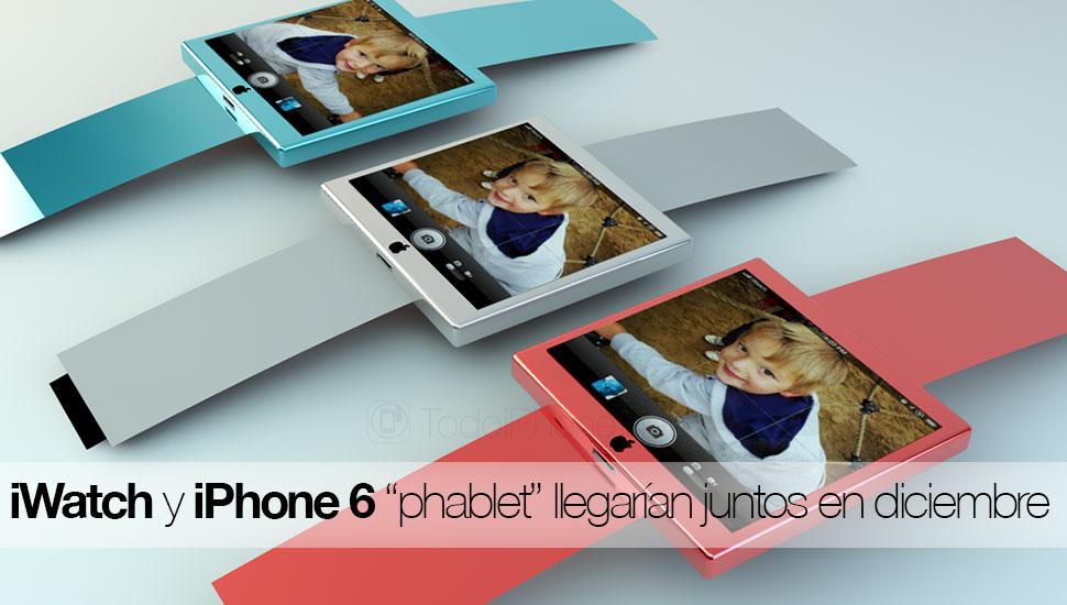 IPhone 6 5,5 inci dan iWatch akan tiba pada bulan Desember 1