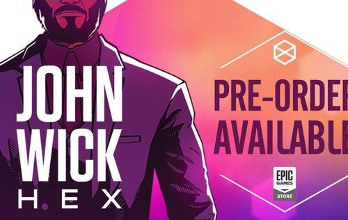 John Wick Hexistä tulee Epic Gamesin eksklusiivinen myymälä