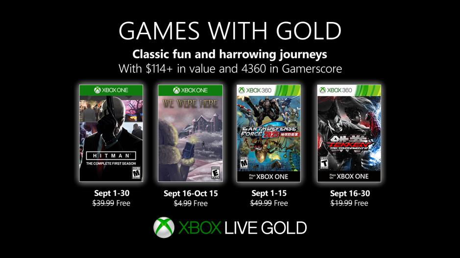 Game Dengan Lineup Emas Diumumkan untuk September 2019