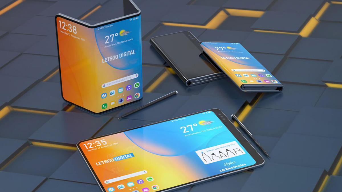 LG dapat mengumumkan smartphone lipat ganda dengan pena stylus di IFA 2019 1