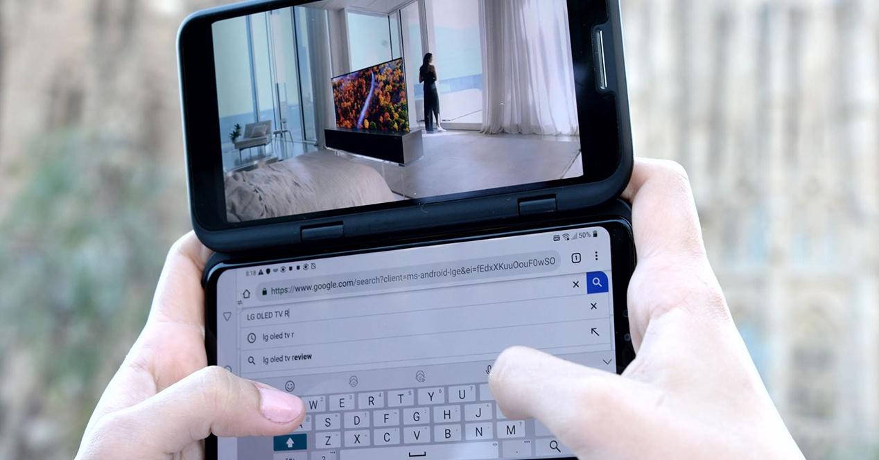 LG akan membawa ke IFA sebuah ponsel dengan ... tiga layar?