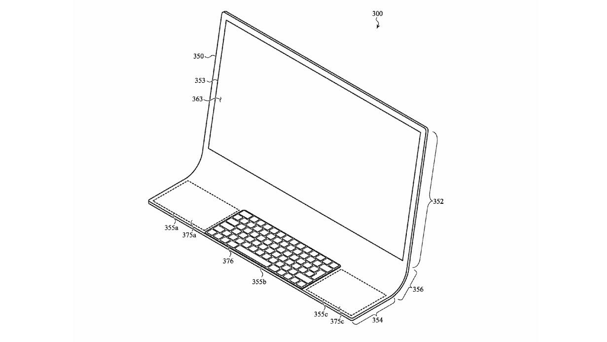 Patentti osoittaa, että uusi iMac-kaareva lasi on tulossa