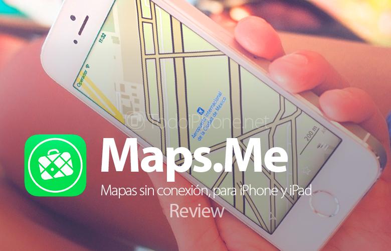 Maps.Me untuk iPhone, peta offline sehingga Anda tidak pernah tersesat 1