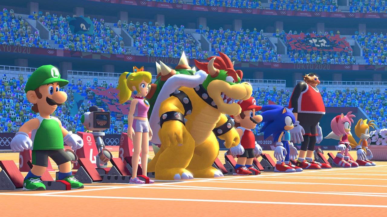 Mario & Sonic di Olimpiade Olimpiade Tokyo 2020: Mini Game Heaven