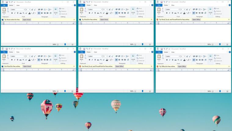 Microsoft sedang menguji iklan untuk Office 365 di WordPad