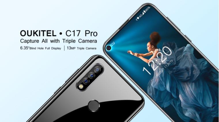 Oukitel debutó con C17 Pro; Tres juegos de cámara trasera por $ 139.99