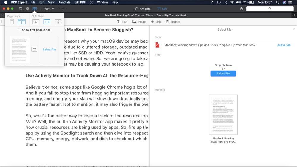 Edición de PDF Expert sin complicaciones