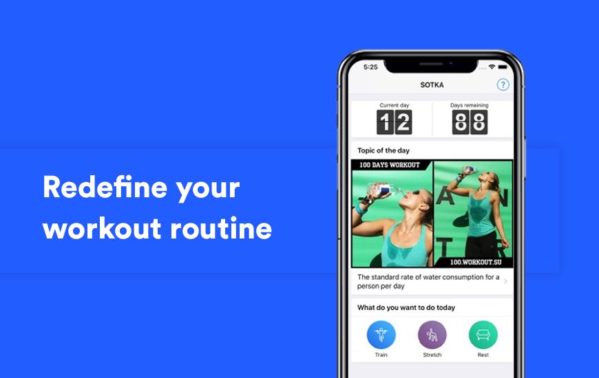 Rejuvenezca su cuerpo con la aplicación SOTKA y manténgase en forma gratis