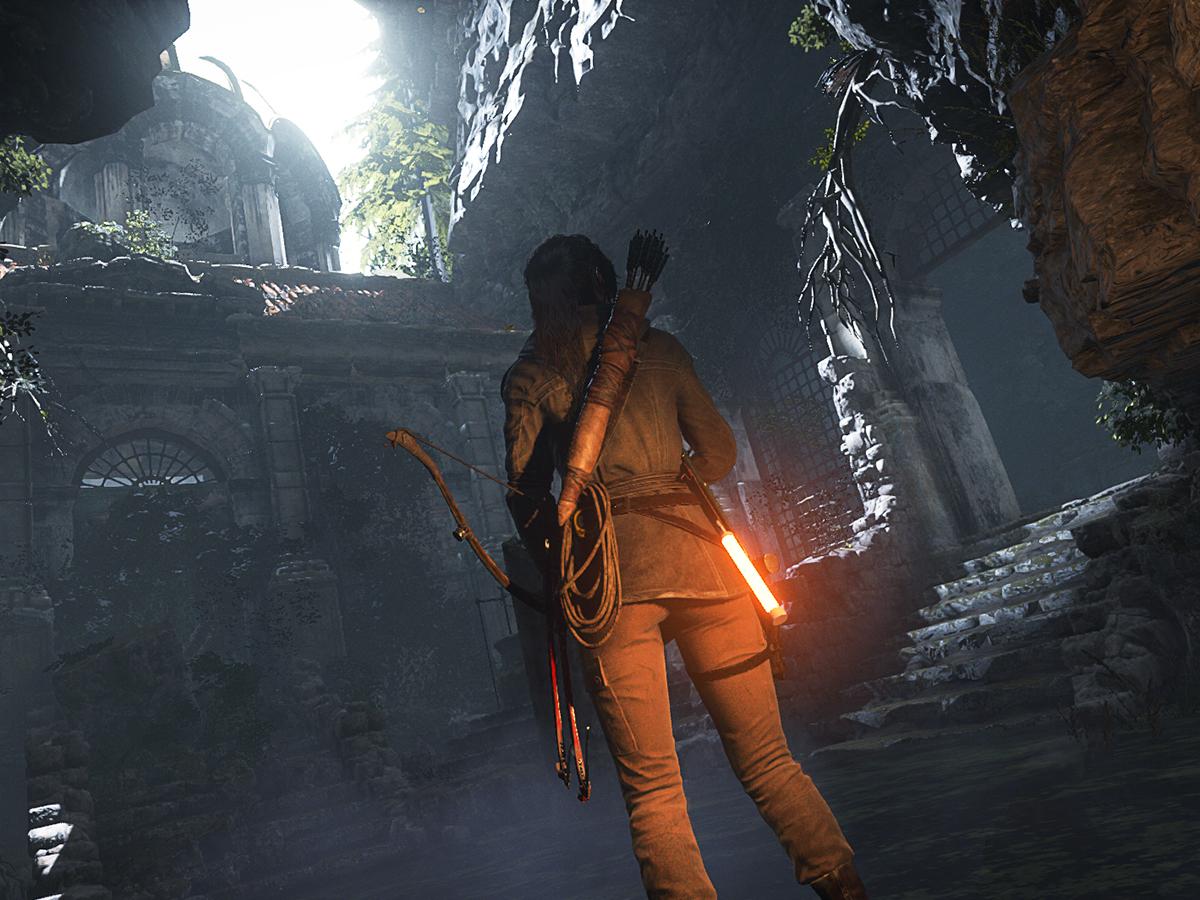Ulasan Rise of the Tomb Raider 1