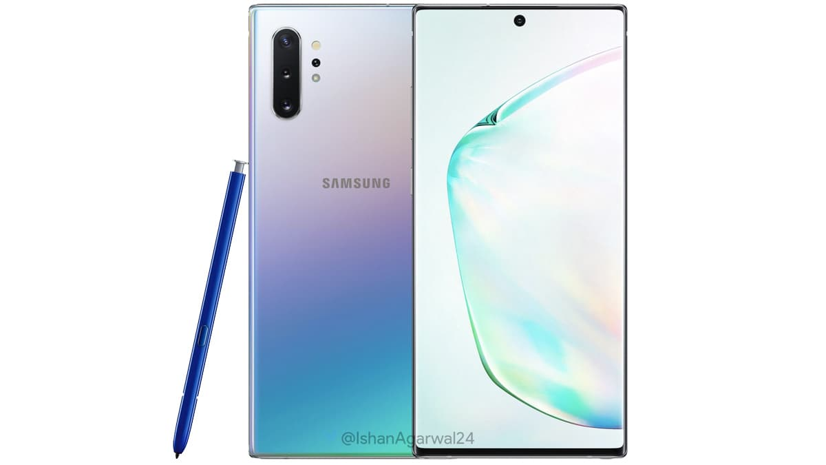 Samsung Galaxy Note 10 Rumoured to Debut in US With Exynos 9825 SoC, Dbrand Skins Show Off Back Panel