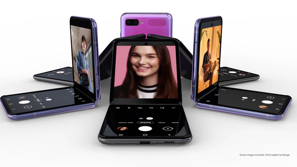 Samsung Galaxy Z Flip, la pantalla plegable por fin tiene sentido