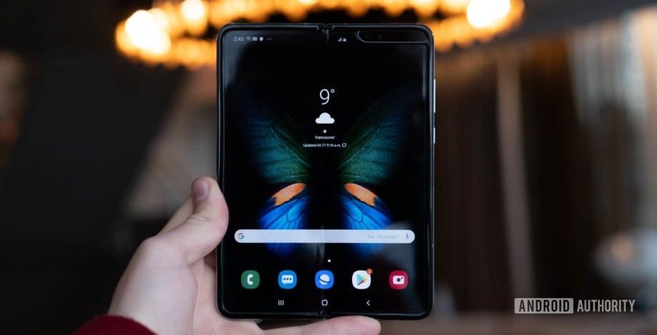 Samsung yang sedang berlangsung Galaxy Fold  ulasan: Hari 1 - Tayangan awal