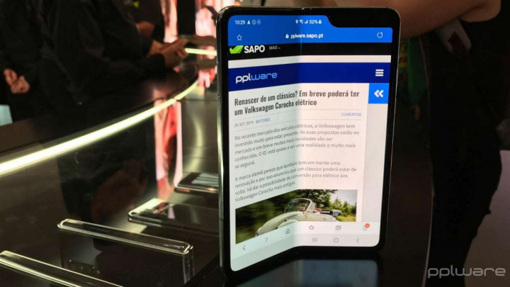 Samsung Galaxy Fold  fällbar skärm