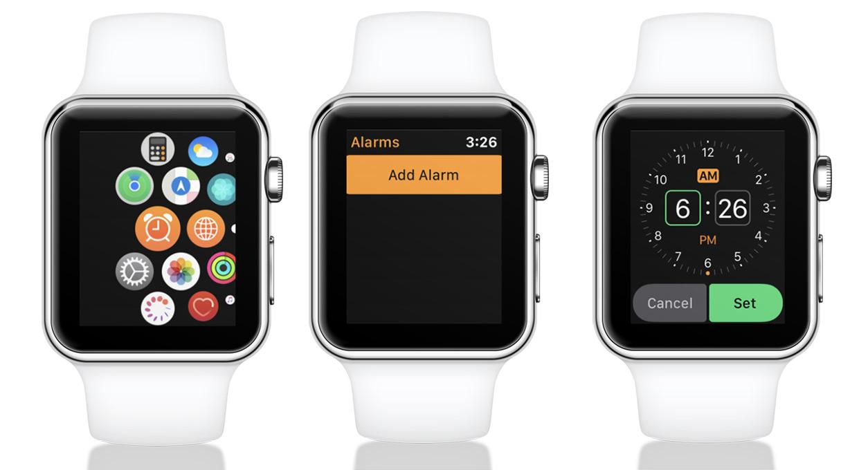 Pon una alarma en tu Apple Watch