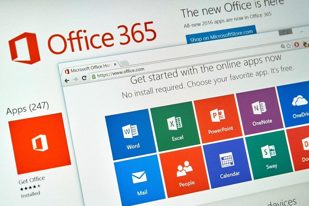 Office 365 En annan installation pågår