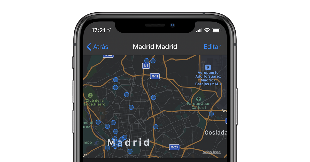 Your iPhone keeps a secret map of all the places that ... 1
