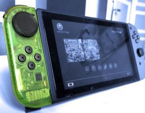 Switch & Emuleringsnyheter: n0rx0r-mods Nintendo Switch Joy-Con med en capaktiv styrplatta istället för en analog pinne och RetroArch 1.8.7 släppt med full hastighet Neo Geo CD på Vita, grundläggande nätverk på 3DS och mer! 1