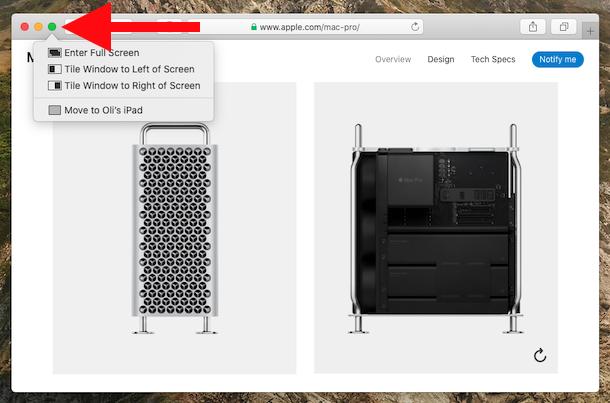 Haz clic en el ícono verde