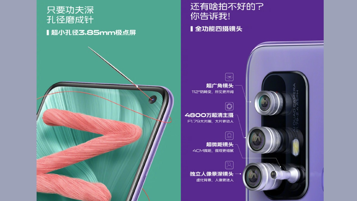 Vivo Z6 5G to Feature 48-Megapixel Quad Camera Setup, 20:9 Display