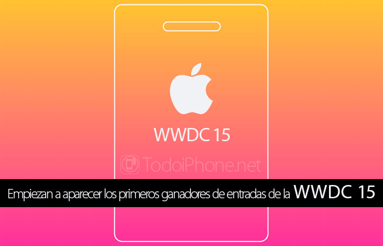 WWDC 15: mulai muncul orang pertama yang beruntung hadir 1