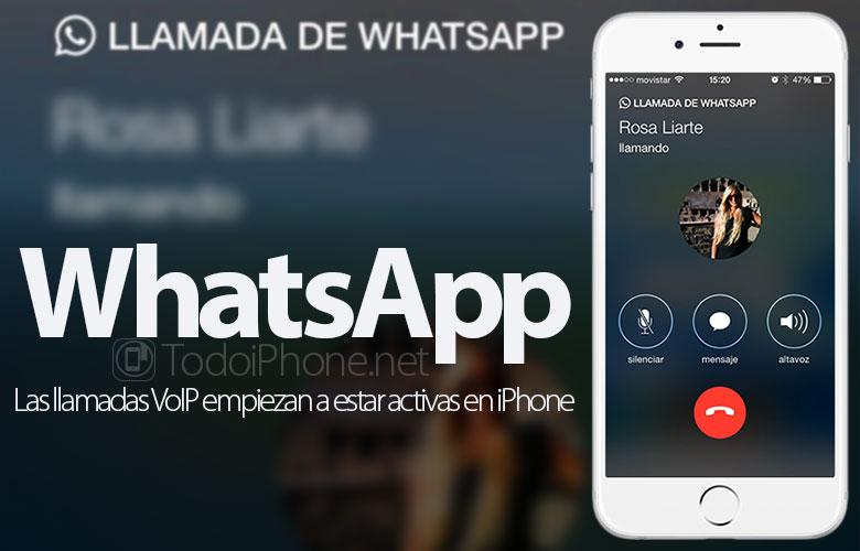 WhatsApp: Panggilan VoIP mulai aktif di iPhone 1