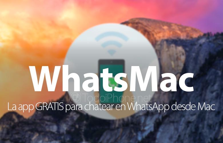 WhatsMac tuo WhatsApp-keskustelut Mac-tietokoneellesi ilmaiseksi