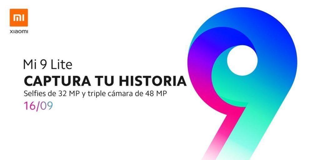 Xiaomi Mi. 9 Lite se lanzará la próxima semana en España 1