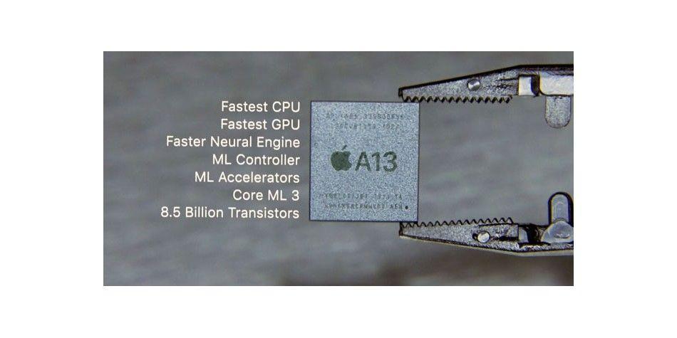 Apple    Chip A13, (c) Apple