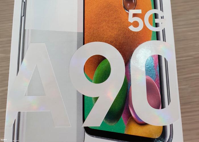 Samsung Galaxy A90 5G: se confirma su diseño en imágenes oficiales