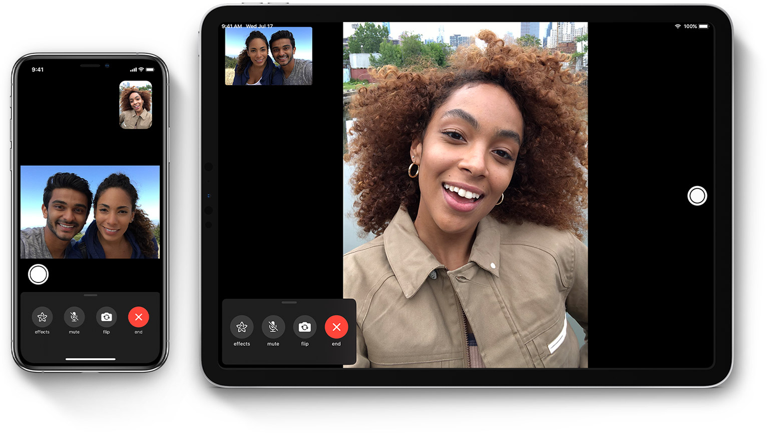 FaceTime vs Zoom: función FaceTime