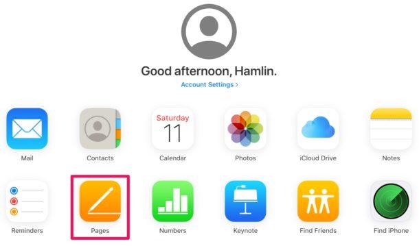 Cómo convertir páginas a Word Doc con iCloud