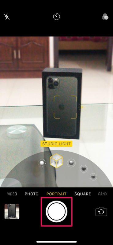 Cómo usar el modo de iluminación vertical en iPhone