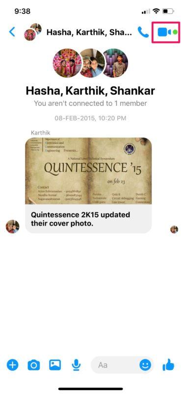Cómo hacer un video chat desde Facebook