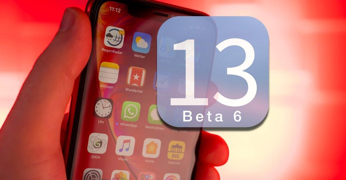 iOS 13 Beta 6 iPhone ja iPad: parannetut ominaisuudet Apple yksityiskohtaisesti