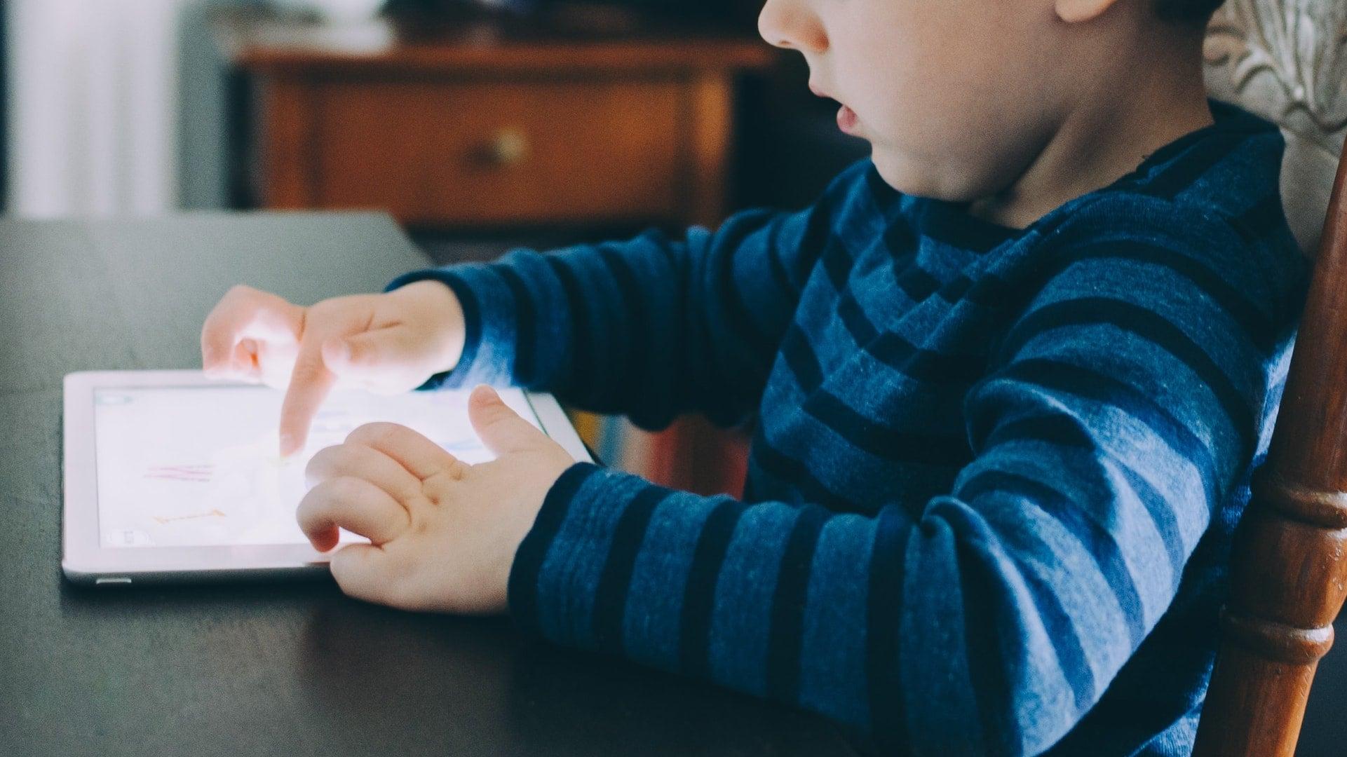iPad-uşaq