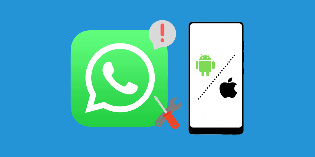 ¿WhatsApp no ​​funciona en Android o iPhone? [Fixed]