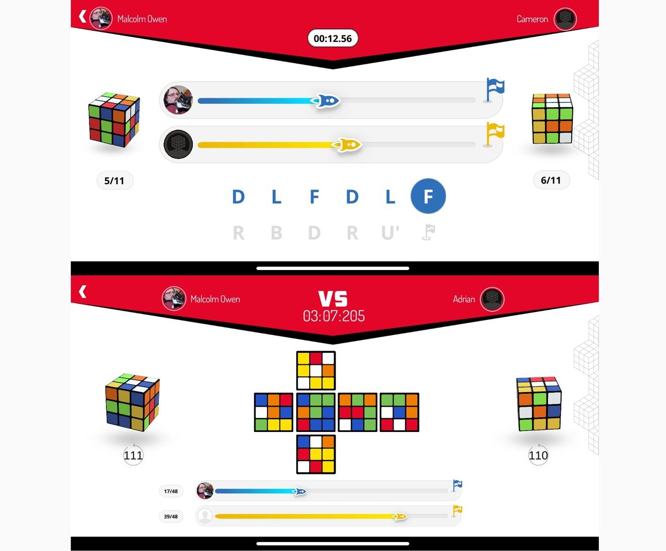 El modo multijugador competitivo no siempre se trata de resolver rápidamente un cubo revuelto.
