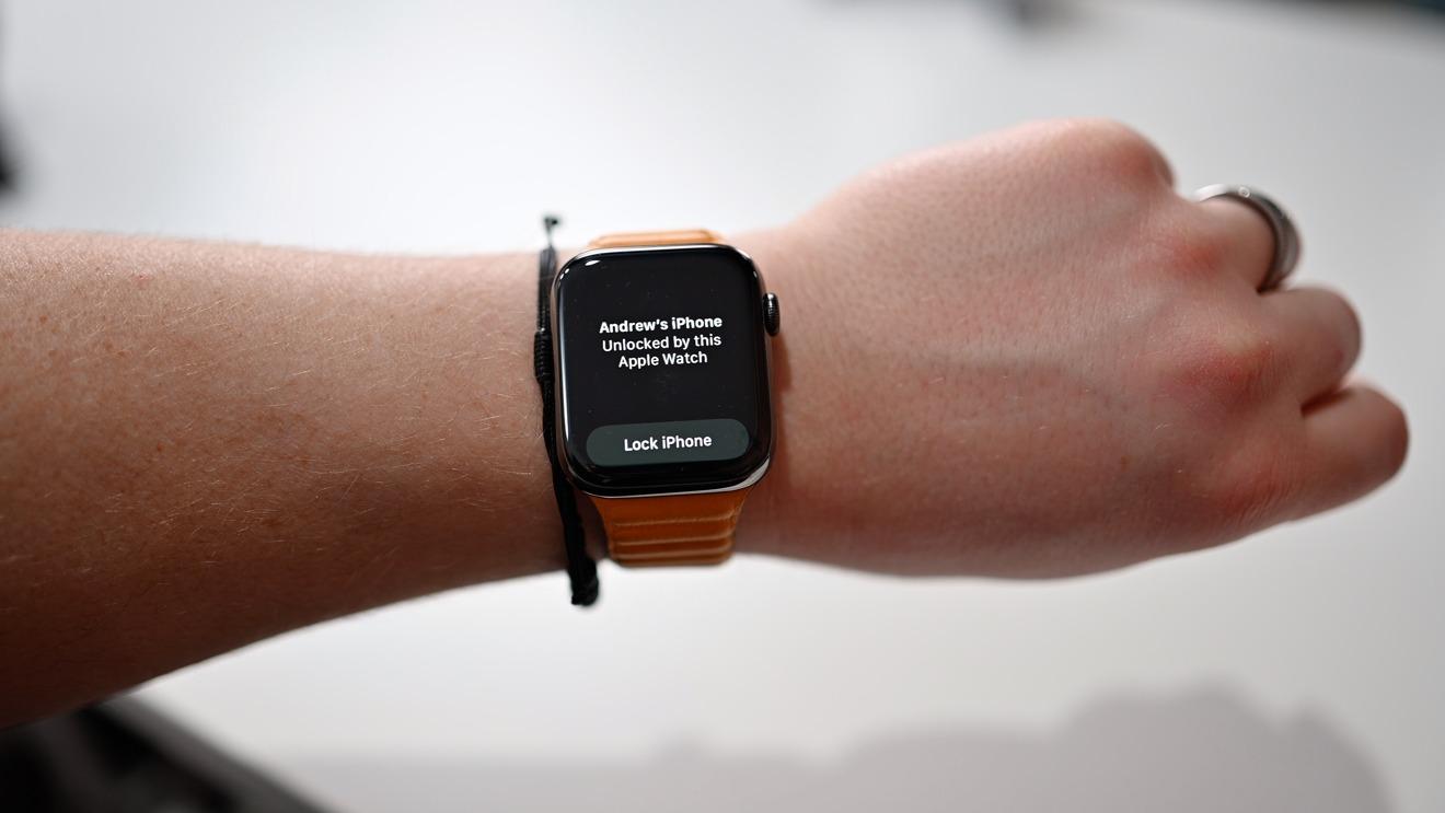 Confirmación en Apple Watch