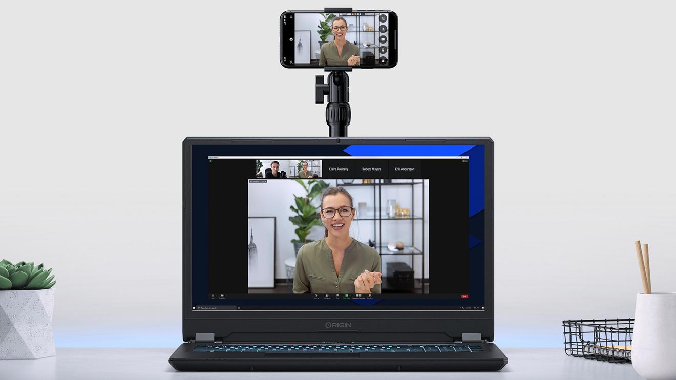 EpocCam Pro es una aplicación de iOS que le permite usar la cámara de su iPhone para videollamadas en Mac o PC