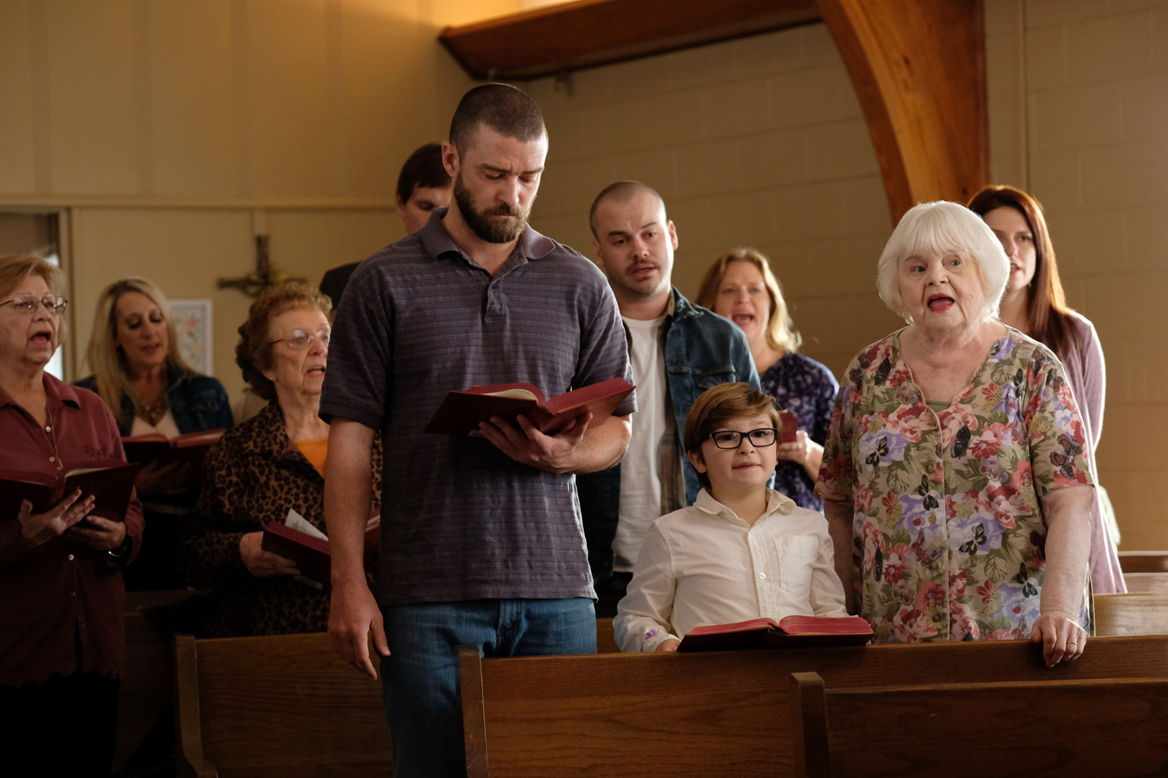 Justin Timberlake, Ryder Allen y June Squibb en