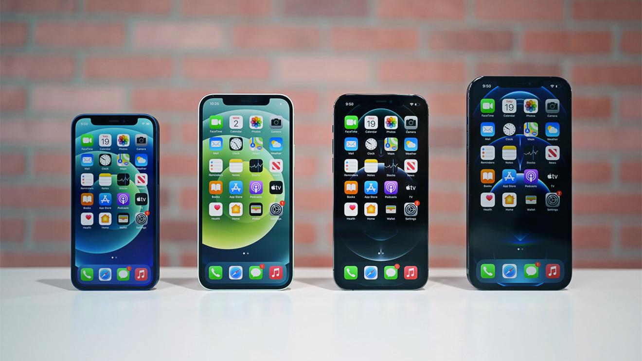 Todo el iPhone 12 póngase en fila
