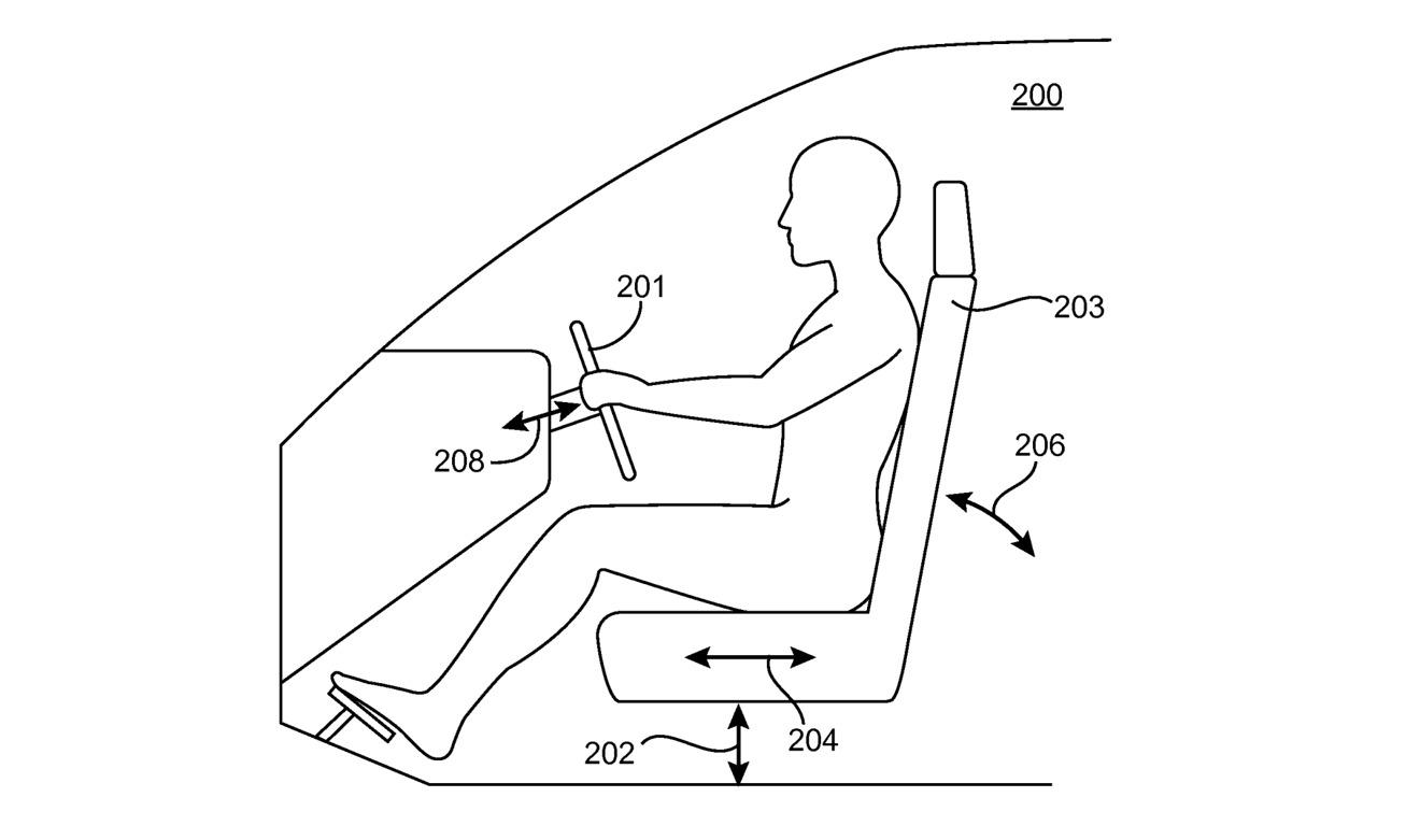 La configuración podría incluir la altura del asiento, la distancia a los pedales, la inclinación y otros componentes.