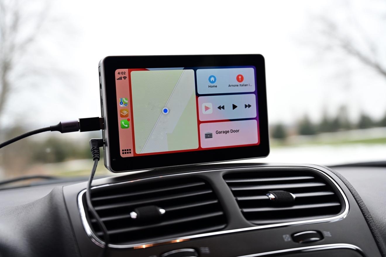 Panel de CarPlay en Intellidash +